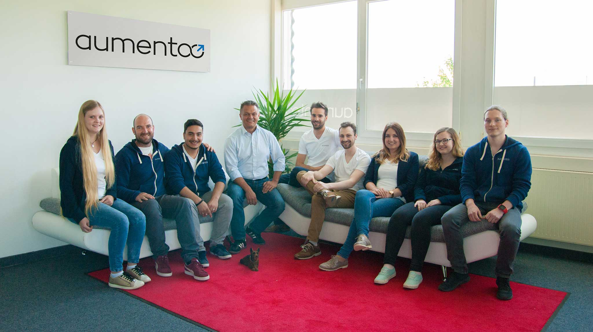 one of the first aumentoo team pictures for the about page