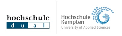 logo of the university of Kempten and hochschule dual