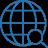 Icon Globale Suche