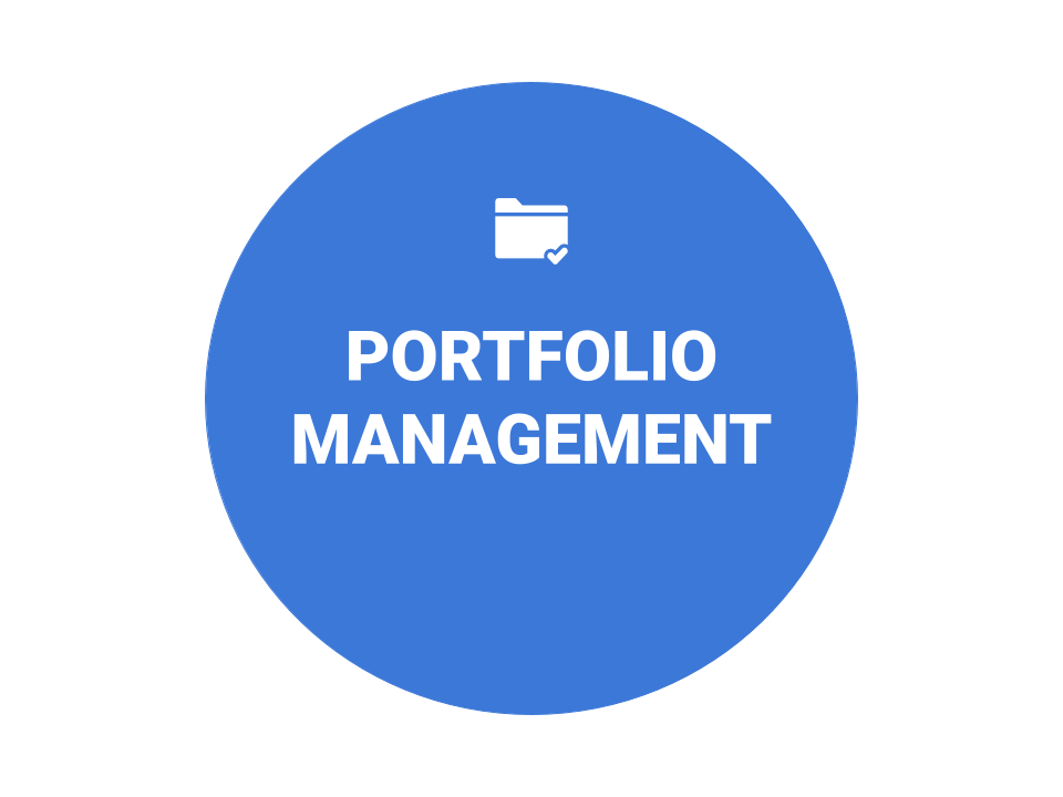 Portfolio Management Icon