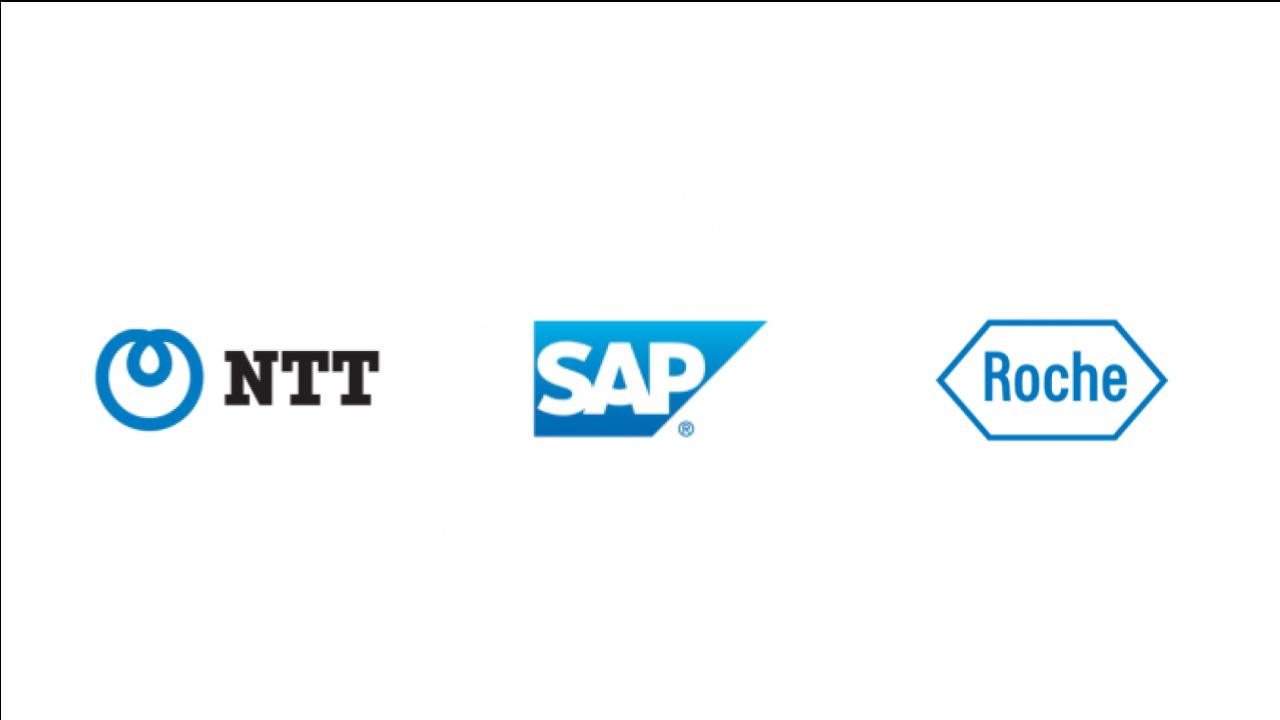 sap-ntt-roche-logos